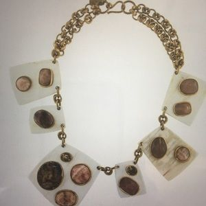 Ashley Pittman Sabini Light Horn Necklace